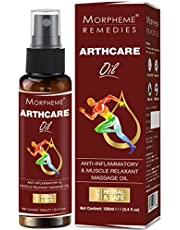 Morpheme Remedies Arthcare Pain Relief Oil For Body Back Le