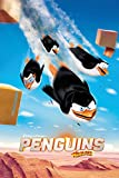empireposter - Penguins Of Madagascar - Flying  - Größe (cm), ca. 61x91,5 - Poster, NEU -