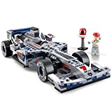 El mejor regalo para los niños, un juguete educativo, Modelo Fórmula 1 de Flecha de Plata, en forma de bloques de montaje SuSheng