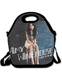 Funny funda bolsa Amy Winehouse Back to Black almuerzo Tote Bag.