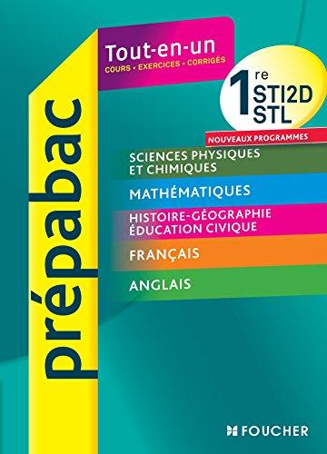 PREPABAC - Toutes les matières générales 1res STI2D - STL par Bernard Verlant