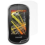 atFoliX Folie für Garmin Oregon 700/750t Displayschutzfolie - 3 x FX-Antireflex-HD hochauflösende entspiegelnde Schutzfolie