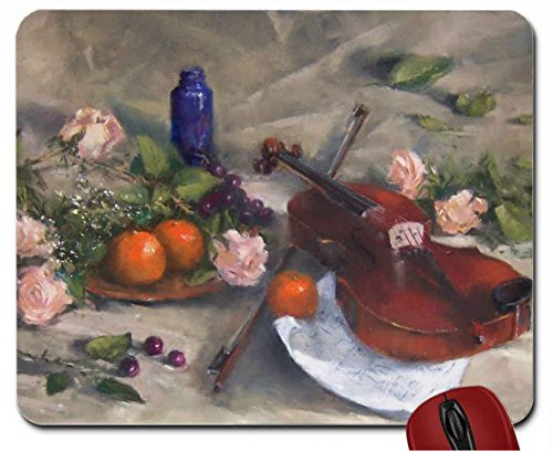 violin-roses-mouse-pad-computer-mousepad
