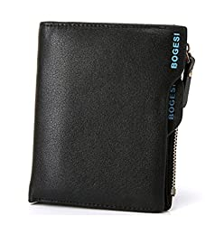 Bogesi Wallet for Mens -Black