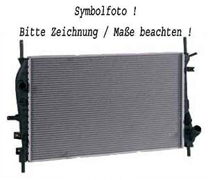 radiateur eau PAJERO, 00 525x705 3.2DiD,A,+/-AC 125 KW