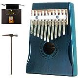 Moozica Acajou Tone Bois Kalimba, Premium de qualité professionnelle doigt pouce Piano pour marimbas le vert foncé