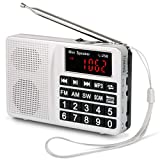 Best Las radios portátiles - Prunus Radio portatile Sw/FM/Am(MW)/SD/TF/USB(0-64 GB) MP3 con altoparlante(Ojo: Review