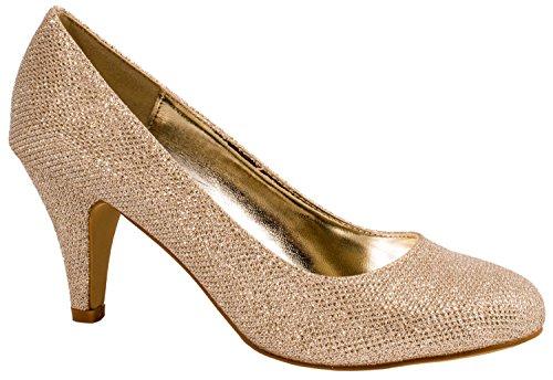 Elara - Scarpe chiuse Donna Gold