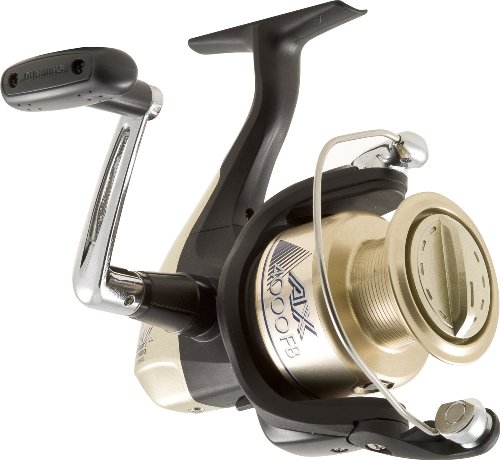 SHIMANO Ax Spin Reel 1 + Kugellager Box, Unisex - Erwachsene, 5.2:1 10-Pounds/200Yard