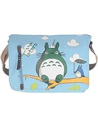 YewNeak My Neighbor Totoro Cute Canvas Shoulder Sling Bag Messenger