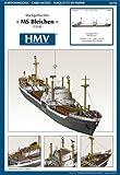 HMV 3374 Papermodel Cargo Freighter MS Bleichen