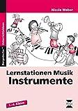 Lernstationen Musik: Instrumente: 1. bis 4. Klasse