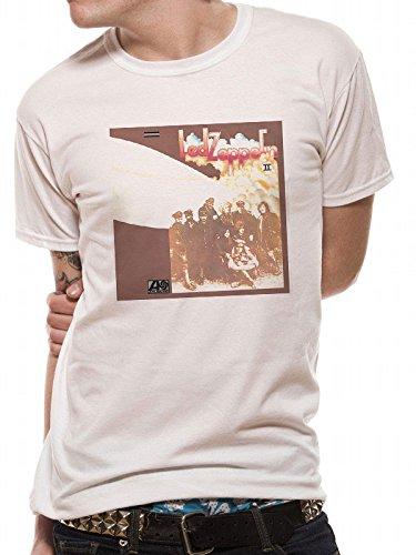CID Herren Led Zeppelin T-Shirt, weiß, S