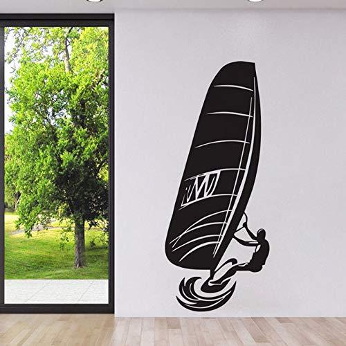 zqyjhkou Windsurfen Extreme Wassersport Wandaufkleber Steuern Dekor Wohnzimmer Tapete Klebstoff Abnehmbare Vinyl Aufkleber Yy394 42x100 cm Martini Dot