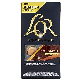 L'OR Espresso caffè – Capsule in Alluminio compatibili con macchine Nespresso – Confezione da 50 capsule