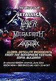 Generic The Big 4 Metallica Slayer Megadeth Milzbrand Foto Poster Bluse CD 001 (A5-A4-A3) - A3