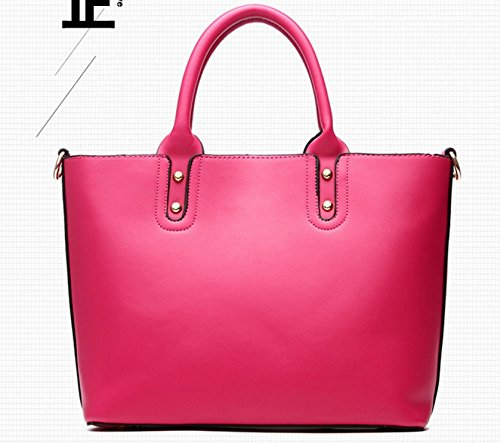 Set Bag Rose da 2 Tote Elegante Borsa Donna Pezzi Tracolla A Baymate v7qwga