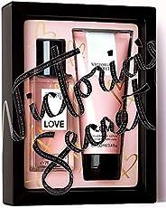 Victorias Secret 3.4 Oz. Body Lotion And 2.5 Oz. Fragrance Mist Love Set For Women