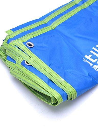 ZQ Camping-Matte/Turnmatte Schlafsack (blau)-A-Test-Feuchtigkeit/Blasenfolie/A-Test