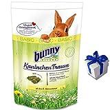 4 kg Bunny Kaninchen Traum Basic Futter für Zwergkaninchen Nagerfutter +Geschenk