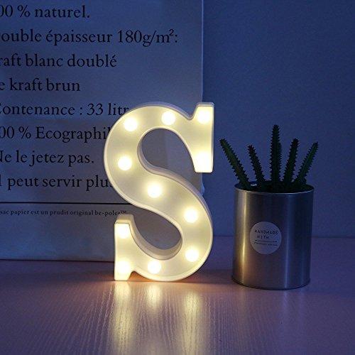 Alphabet Buchstaben LED Nachtlicht Festival Festzelt Zeichen Wand Dekorative Tischlampen Hochzeit Schlafzimmer Lampe Wandbehang Fotografie Ornamente Motiv Lampe (S)