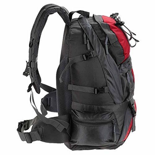 Wanderrucksack 50L Wasserdichtes Sporttasche Big Outdoor-Kapazität Taschen Bergsteigen Jagd Travel Rucksäcke 1