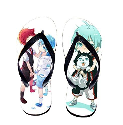 Bromeo Kuroko No Basuke Anime Unisexe Flip Flops Tongs 430