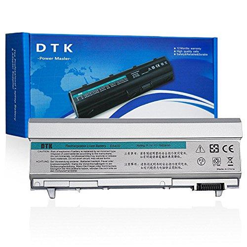 Dtk® Haute Performance Batterie de Rechange pour Ordinateur Portable Dell Latitude E6400 E6410 E6500 E6510 Precision M2400 M4400 M4500 PT435 KY477 (11.1V 6600MAH 9CELLS) d'ordinateur Portable