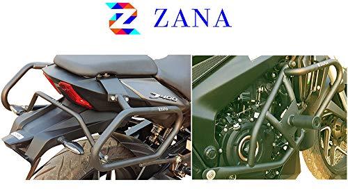 ZANA INTERNATIONAL Combo of Crash Guard and Saddle Stay for Dominar 400