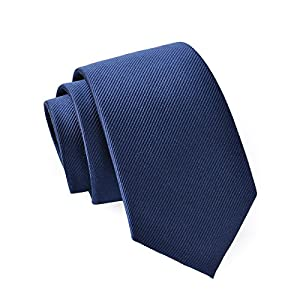 Massi Morino ® Seidenkrawatten für Herren - handgenähte Krawatte (100% Seide) Slim-Fit Herrenkrawatte 6,5 cm schmal