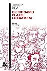 Diccionario Pla de literatura par Pla