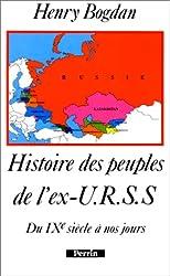Histoire des peuples de l'ex-URSS du IXe siècle à nos jours