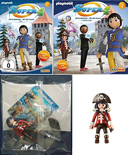 Hörspiel/CD & DVD 1 + Piratin Figur im Set (CD+DVD)