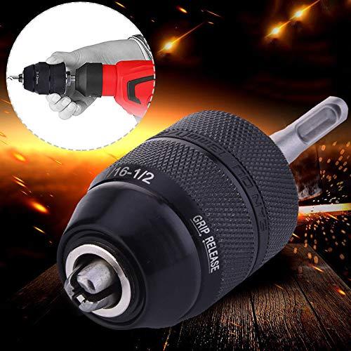 2-13mm Sans clé Foret Mandrin Perceuse Impact Serrage Adaptateur...