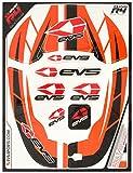 EVS Stickerkit R4 Orange