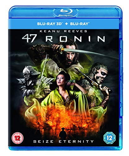 47 Ronin 3D - Limited Edition Lenticular Cover (Blu-ray 3D + Blu-ray + UV Copy) (UK Import mit deutscher Tonspur auf beiden Blu-Rays) Blu-ray, Regionfree