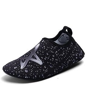 ASHION Zapatos de Agua Escarpines Buceo Snorkel Escarpines Surf Escarpines Deportes Acuáticos