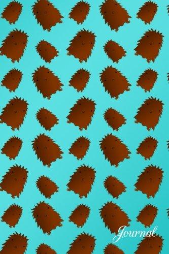 Journal: Turquoise cute baby bigfoot notebook por Brothergravydesigns
