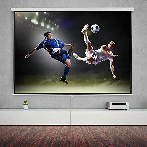 Get FrontStage SLS-120 Projector Screen 120″ 265 x 150 cm Home Cinema Projector HDTV Review