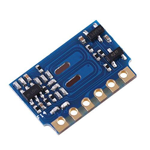 3 Stücke DC 2,7 V ~ 5,3 V H3V4 433 Mhz FRAGEN MINI Low Power Superheterodyne Empfänger Modul RF Wireless Receiver Modul für Smart Home Fernbedienung DIY