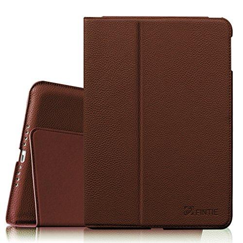 Fintie iPad Air 2 Hülle - Ultradünne Lightweight Schutzhülle Tasche Case mit Auto Schlaf / Wach Funktion Standfunktion nur geeignet für Apple iPad Air 2 (iPad 6 6. Generation), Braun (Cellular 64 Ipad Air 2)