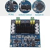 TPA3116D2 - Amplificador inalámbrico Bluetooth 4.0 de doble canal (120 W + 120 W, 12 V-24 V, CC para audio de coche