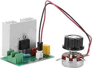 Ac 0 220v 4000w 40a Motordrehzahlregler Spannungsregler Importiert Hochleistungs Thyristor Elektronikregler Led Dimmer Baumarkt