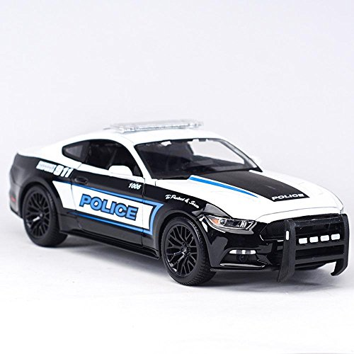Penao 2015 Ford Mustang GT Auto Coupe, Legierung Auto Simulationsmodell, Verhältnis 01:18 (Modell-auto-kits Ford Mustang)