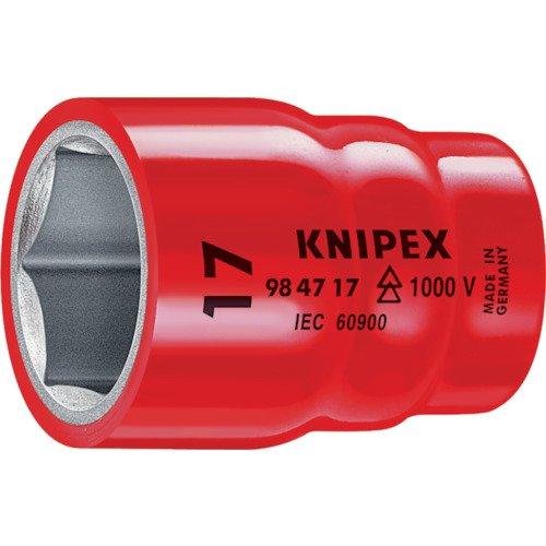 Knipex 98 47 1 Steckschlüsseleinsatz 1/2 Zoll, Länge in mm: 61, 1 Stück
