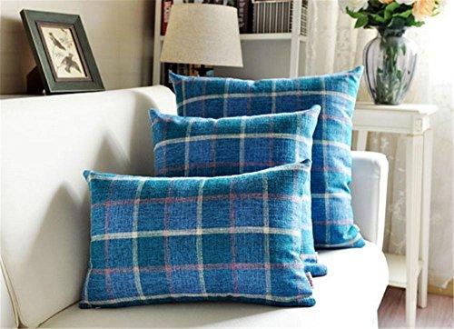 Divano piazza decorativo cuscino / cuscino / più dimensioni , blue , (Miller Cuscino Decorativo)