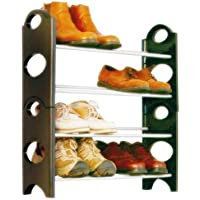 GTC Bells Boss Foldable 12 Pairs Shoe Rack
