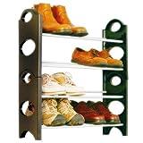 #5: GTC Bells Boss Foldable 12 Pairs Shoe Rack