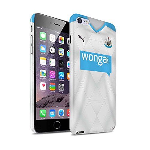 Offiziell Newcastle United FC Hülle / Glanz Snap-On Case für Apple iPhone 6S+/Plus / Pack 29pcs Muster / NUFC Trikot Away 15/16 Kollektion Fußballer
