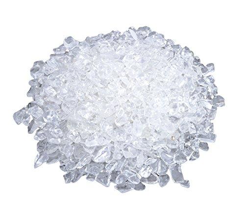 Bergkristall Mini Trommelsteine 300 gramm Chips 5 mm Durchmesser